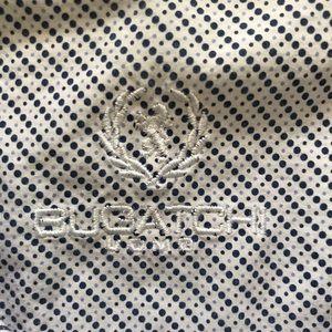 BUGATCHI UOMO Long Sleeve Button Down Shirt!  L